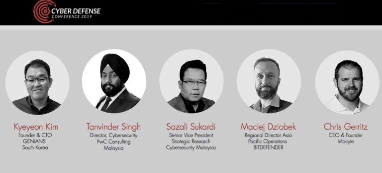 CYDEF Speakers list